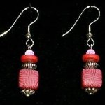 Bead Dangles - Red Pink Plus