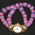 Purple Gold Watch