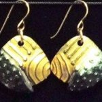 Dangle Foldover Earring-Rugged Terrain - Forest Riches